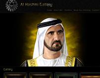 Al Hashmi Gallery Website design