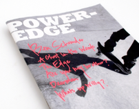 Poweredge Magazine Redesign