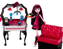 Monster High Doll and Playset Design