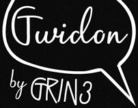 Gwidon font