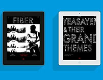 Fiber Digital/IPAD magazine design