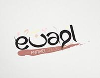 enamel salon logo