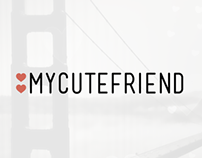 MyCuteFriend Bay Area Splash Screen Concepts