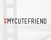 MyCuteFriend Bay Area Splash Screen Concepts