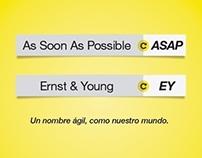 ERNST&YOUNG - Nuevo nombre: EY