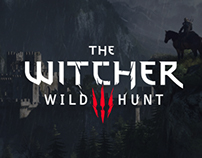 The Witcher 3: Wild Hunt - Concept promo page