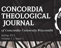Concordia Theological Journal