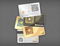 Bitcoin Wallet Designs w/ QR Codes