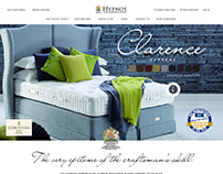 New responsive website for Hypnos Beds UK