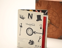 Alice in Wonderland - Paper Swatchbook