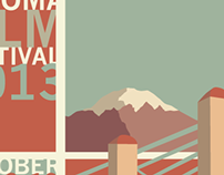 Poster design I entered to the Tacoma Film Festival