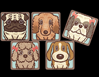 Square dogs