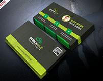 Freebie : Classic Business Card Template Free PSD