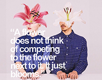 Metaphorical flowers do not compete