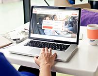 VING Website. UI & UX