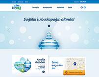Birdağ Su Kurumsal Websitesi, 2014
