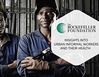 Rockefeller Foundation - Urban Informal Workers Report