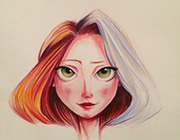 Watercolors pencil