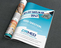 ZirMed - Full Page Ad in Business First Magazine