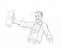 Storyboards Samuel Adams Octoberfest Stein Hoist