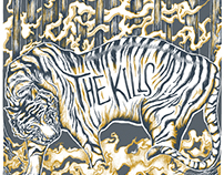 THE KILLS - Marathon Music Works Gig Poster