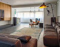 Bachelor apartment