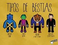 Tipos de Bestias