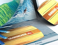 Quiksilver Gift Card Carrier