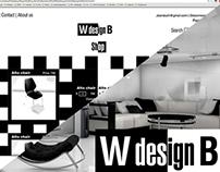 W design B Branding - 3D - Webdesign