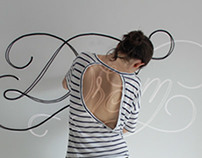 Rope typography