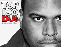 Social Network Campaign DJ/Artist (Top 100 DJ's)