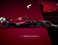 2018 Alfa Romeo Sauber F1