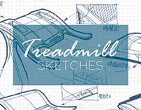 Treadmill Sketches