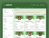 Hattrick Design competition - Transfer Search pages