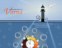 a day in Varna - Illustration