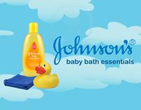 Johnson's Baby Bath Essentials BUNDLE PACK