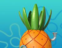 Spongebob 3D Houses