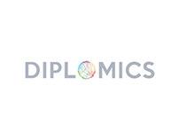 Diplomics Logo Design