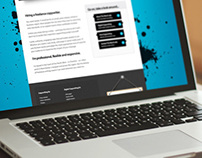 Copywriters Website Design