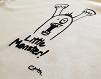 Little Monster T-Shirt Design