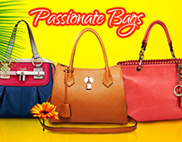 Passionate Bags Online Branding