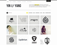 Yin & Yang: Clear and Slick WP Portfolio Theme