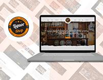 Liquor Shop Website Design