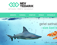 Nev Tedarik business website.