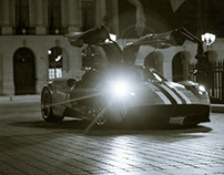 The Pagani Huayra in Paris