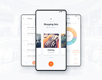 ShopeX app UI and logo