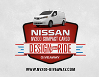 Nissan NV200 Design Your Ride