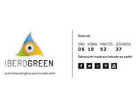 Iberogreen web for Greenpeace España