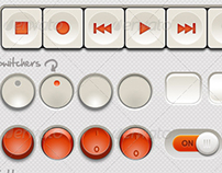 Retro Buttons Package