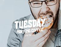 Tuesday Morning Coffee: Creative Residency Podcast